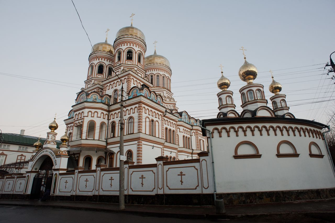 Orthodox Svyato-Vvedensky (Holy Introduction) convent